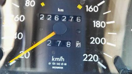 W124 Tacho