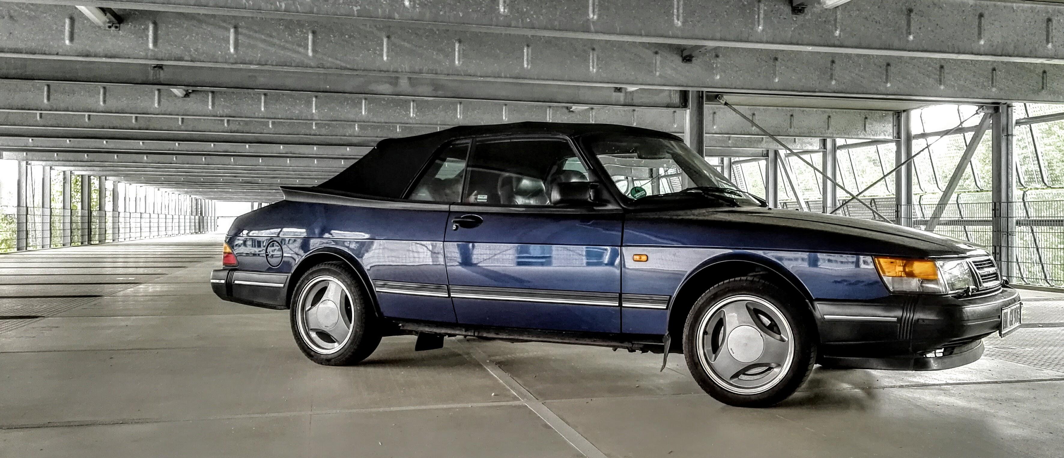Garage für meinen Saab 900