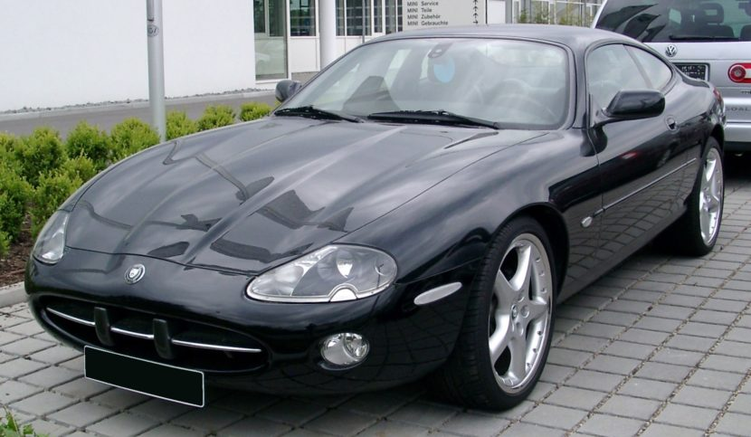 Die Raubkatze Jaguar XK8